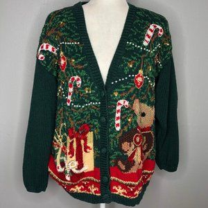 Vintage Maggie Lawrence Ugly Christmas Sweater